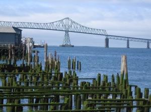 The bridge over the Columbia, Astoria.