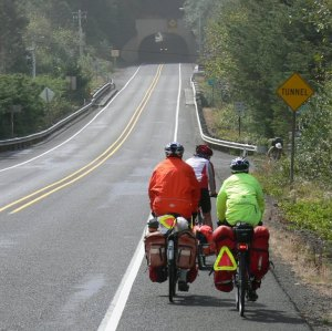 On the road in Oregon.  [Photo: Dan Farrell]