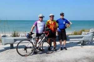At Gasparilla island State Park on Boca Grande on the Gulf Coast.