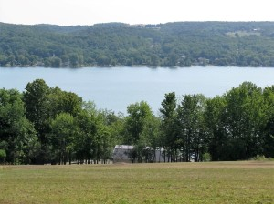A typical view in the Finger Lakes region.