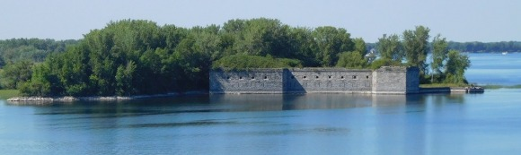 Fort Montgomery was built near Rouses Point in the mid-1800s to guard the U.S.-Canadian border.