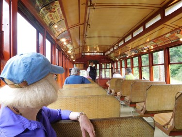 The rides are a great way to learn about and experience what interurban trolley travel was like in the United States in the early 1900s.