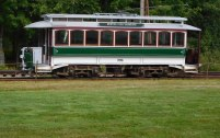 This Boston trolley from 1900 has been used in film and TV productions.