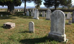 The Mumma Cemetery, a family burial ground in the midst of the battlefield, contains graves of local people dating back from before the battle to the present.