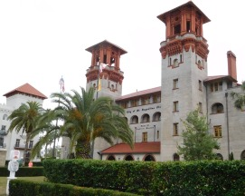 Bob and I visited the Lightner Museum, an eclectic collection of fine and decorative 19th-century art in St. Augustine. It occupies what was once the Alcazar Hotel, built in 1888 by Henry Flagler, who led the development of Florida's Atlantic coast.