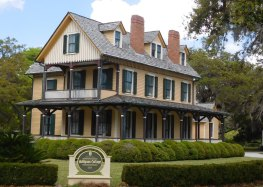 The duBignon Cottage exemplifies what life was like for those rich enough to visit Jekyll Island in years past.