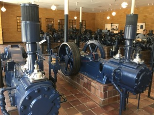 You can now visit the historic pump room that used to control the fountains, and examine the equipment that powered the spectacular water displays.