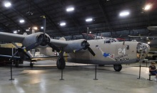 The Consolidated B-24D Liberator bomber was used in every combat theater in World War II. I once attended a lecture at the Smithsonian to hear Senator George McGovern talk about his experiences flying Liberators.