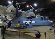 The Consolidated OA-10 Catalina flying boat was the Army Air Forces' version of the Navy PBY. It was used for air-sea rescue.