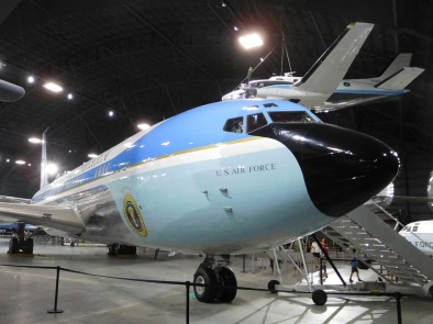 This modified Boeing 707 airliner carried presidents from Kennedy to Clinton.