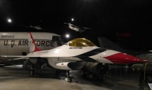 And of course, there are aircraft from the Thunderbirds, the Air Force aerial exhibition team.