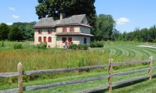 Several years ago, Longwood Gardens in Pennsylvania added an 86-acre tract of meadow and forest to its already expansive property. A walk to this historic farm house at the far end of the meadow is a beautiful trek on a summer day.