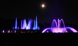 Half-hour-long illuminated fountain performances at Longwood Gardens' newly restored Main Fountain Garden take place Thursday through Saturday evenings through late October. They are worth planning a visit to Longwood around. The outdoor beer garden on those same evenings is fun too.