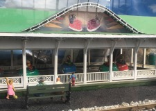 Glen Echo's Bumper Car Pavilion was a great place to safely bang fenders with your siblings or friends. Open-air dances and other events now take place on its wooden plank floor.
