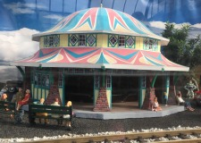 Glen Echo's fully restored 1921 Dentzel Carousel still draws children and adults to the park for a ride. Inside this scale model is a miniature working carousel.
