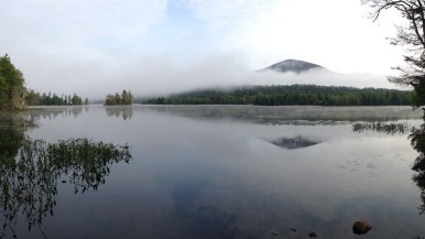 From a campsite on Lake Durant in the Adirondacks.