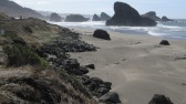 The Oregon coast south of Port Orford.