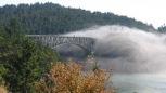 The Deception Pass Bridge onto Whidbey Island in Puget Sound, Washington.