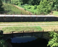 Note the similarities and differences between this and the restored Conocoheague Aqueduct.