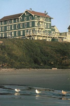 The Sylvia Beach Hotel (named after a woman, not a beach) sits on a bluff overlooking the Pacific in Newport, Oregon. Each uniquely designed guest room is named for a famous author—from Shakespeare to J.K. Rowlings—and its decor evokes that person's literary works.
