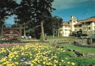 "The Columbia Gorge Hotel near Hood River, Oregon, opened in 1921 and sits at the edge of the Columbia River Gorge. Its ""World Famous Farm Breakfast"" is not to be missed."
