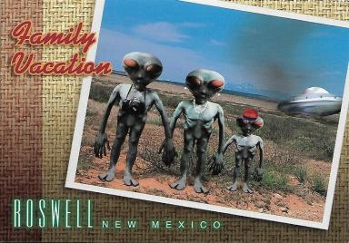 Roswell, New Mexico, makes the most of its alleged encounter with aliens in 1947.