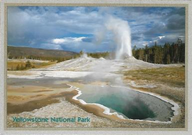Upper Geyser Basin, Yellowstone National Park, photo by Glenn Van Nimwegen.