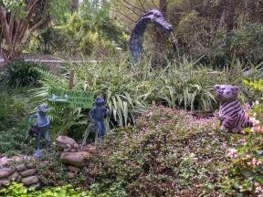 Wildlife in the Children's Garden at Kanapaha Botanical Gardens near Gainesville, FL.
