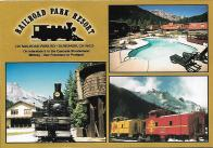 If you'd like to spend the night in a caboose, the Railroad Park Resort in Dunsmuir, California, is the place for you. I've also stayed in a caboose motel near Strasburg, Pennsylvania.