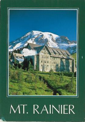 Paradise Inn on Mount Rainier opened in 1917 and is one of the grandest of the historic national park lodges.