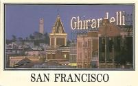 Ghirardelli Square in San Francisco is a renowned shopping center and home of the Ghirardelli Chocolate Factory. I ate many a decadent ice cream sundae here during my early visits to the city.