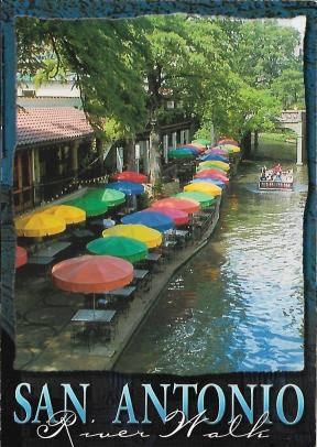 Meandering through downtown San Antonio, the Riverwalk is a great place to take a slow boat ride or relax by the water with a Lone Star beer.