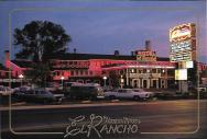 On Route 66 in Gallup, New Mexico, the El Rancho Hotel served as home base for many Hollywood film shoots. Its long list of notable guests includes John Wayne, Kirk Douglas, Katharine Hepburn, and Ronald Reagan.