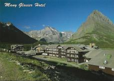 Built by the Great Northern Railway in 1914–15, Many Glacier Lodge is one of several historic lodges in Glacier National Park.